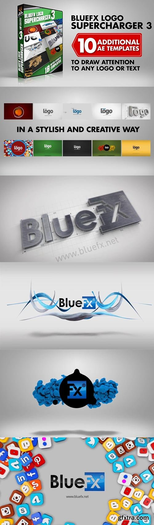 Bluefx - Logo Supercharger 3