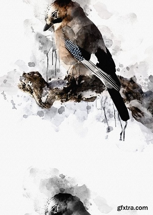 GraphicRiver - Ink Art Photoshop Action 18157633