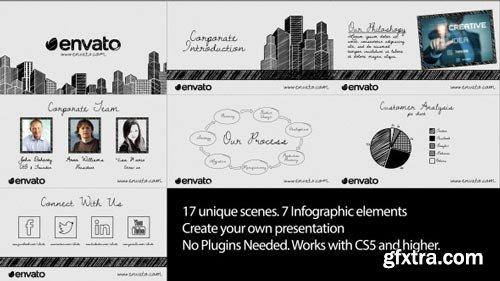 Videohive - Sketch Corporate Video Pack - 12326488