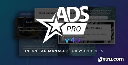 CodeCanyon - Ads Pro Plugin v4.2.71 - Multi-Purpose WordPress Advertising Manager - 10275010