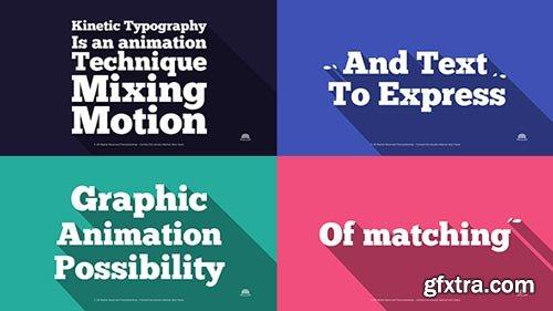 Videohive - Flat Typography - 9135369