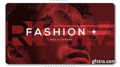 Videohive Fashion Plus Media Opener 20680196