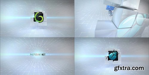 Videohive Clean Cubes Logo Reveal 20617175