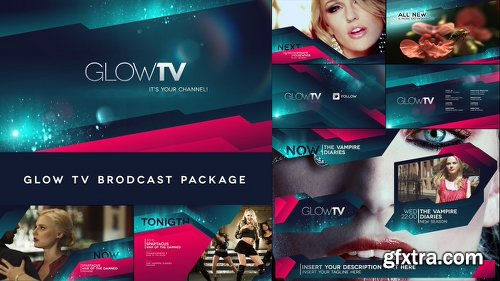 Videohive Glow TV Broadcast Package 4520753
