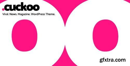 ThemeForest - Cuckoo v2.5.1 - Viral, News, Magazine WordPress Theme - 18600726