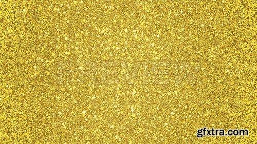 Golden Glitter Background Loop 87460