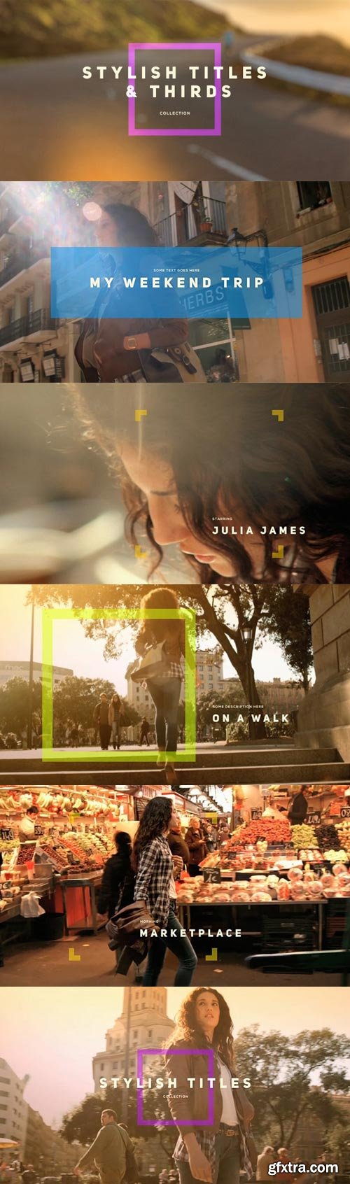 Videohive - Stylish Titles & Thirds - 12251144