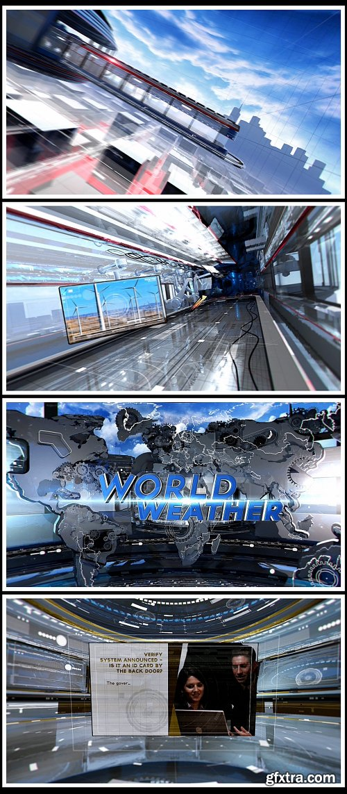 Videohive World News Broadcast Package 9448821