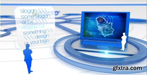 Videohive Elegant it video display presentation v2 154395