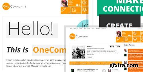 ThemeForest - OneCommunity v2.1.2 - BuddyPress Community e-Learning LMS Theme - 3713046