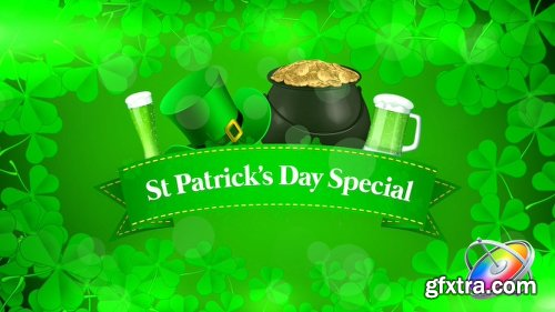 Videohive St Patrick\'s Day Special Promo - Apple Motion 21556166
