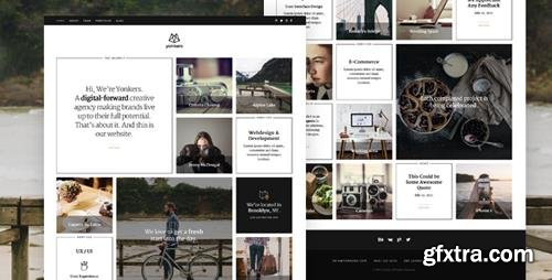 ThemeForest - Yonkers v1.0 - Creative Agency Drupal 8 Theme - 22104197