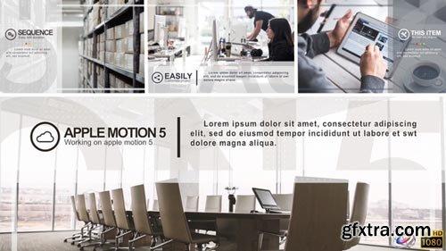 Videohive - Minimal Corporate Slideshow - Apple Motion - 19666413
