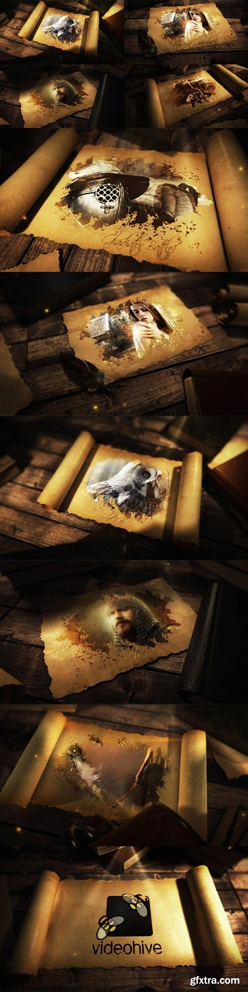 Videohive - Ancient Epic Scroll - 20994228
