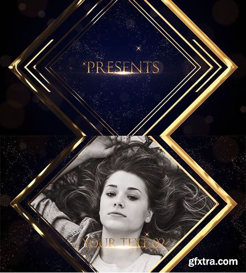 Golden Luxury Slideshow - After Effects 90271