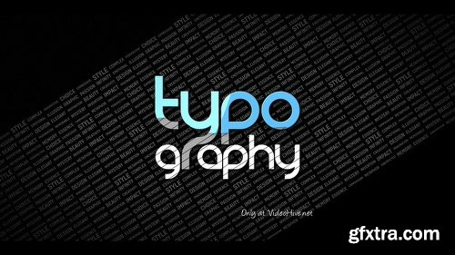 Videohive Typography Reveal 4275395