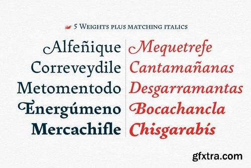Pliego Font Family