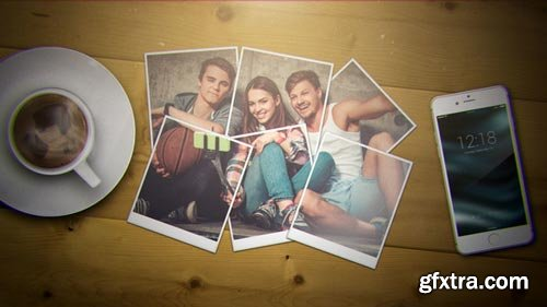 Videohive - Wonderful Moments | Photo Gallery and Logo Reveal - 12900952