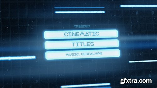 Videohive Cinematic Titles 19534976