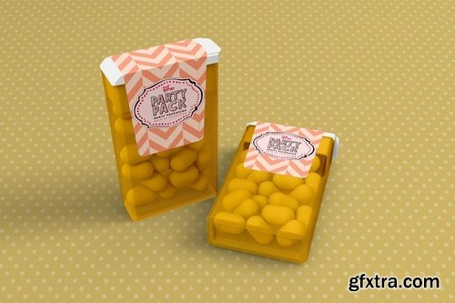 Party Packaging Mockup
