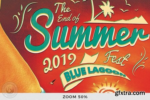 GraphicRiver - Summer Fest Flyer Template V4 14121849