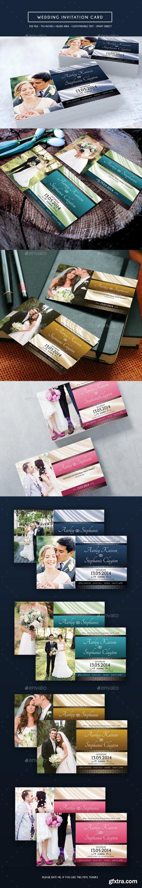 Graphicriver - Wedding Invitation Card 14207802