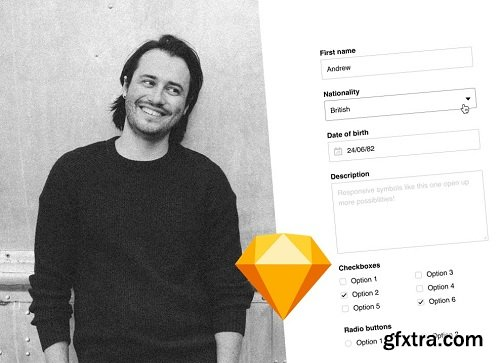 System design basics: How to create symbols in Sketch, for simple, fast and consistent design