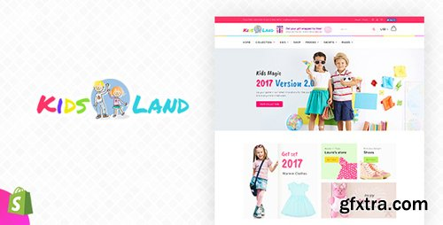 ThemeForest - Kids Store v1.0 - Kids Clothing Fashion Shopify Theme (Update: 28 July 17) - 20254444