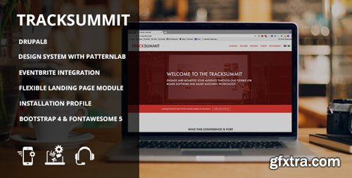 ThemeForest - Tracksummit v1.0 - Drupal 8 Conference & Events - 22022007