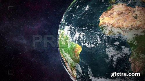 Earth Rotation Closeup 86943
