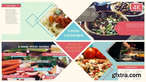 Videohive - Food Broadcast Package - 17997276