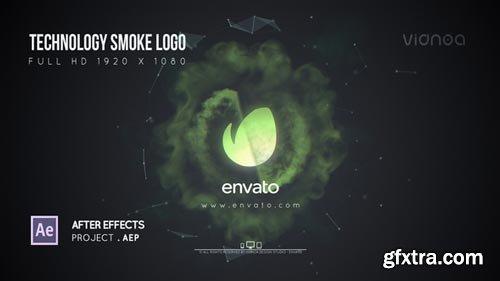 Videohive - Technology Smoke Logo - 21644686