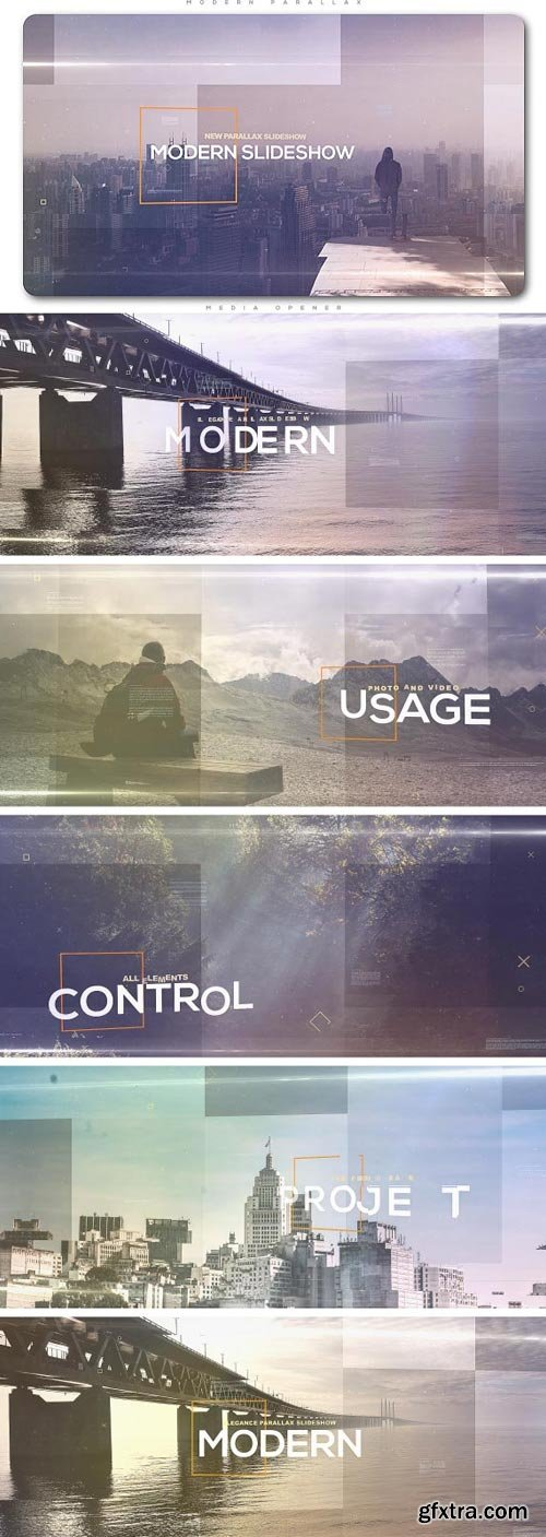 Videohive - Modern Parallax Slideshow - 20548046