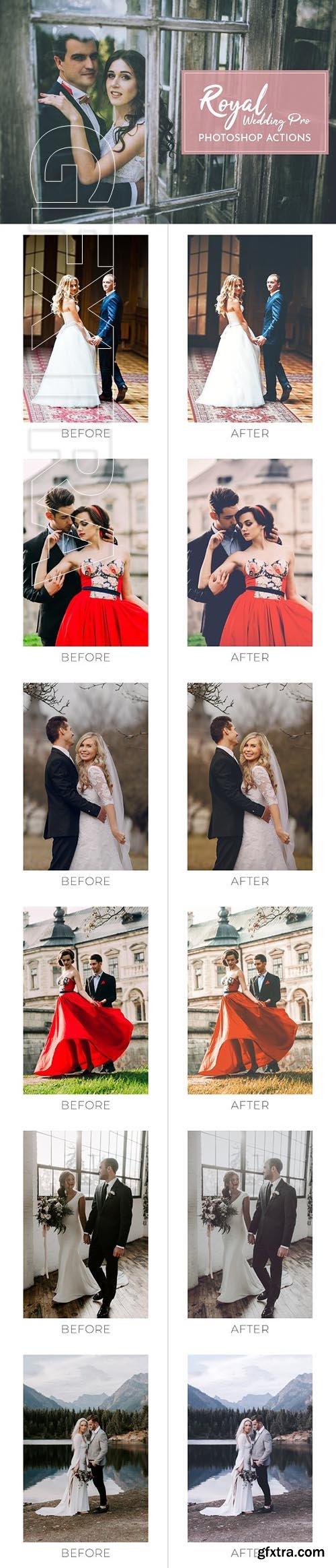 CreativeMarket - Royal Wedding Pro Photoshop Actions 2688845
