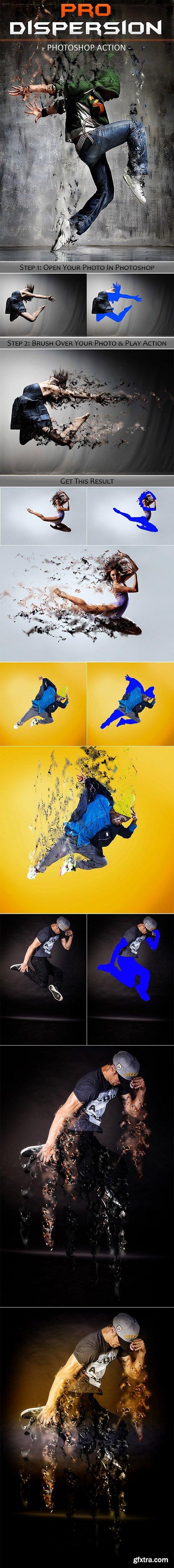 Pro Dispersion Photoshop Action