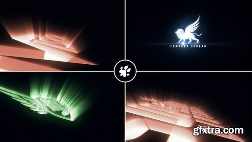 Videohive Cinematic Light Rays Logo v3 22040240