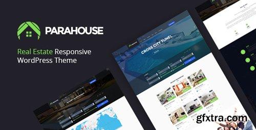 ThemeForest - Parahouse v1.3.1 - Modern Real Estate WordPress Theme - 18150539