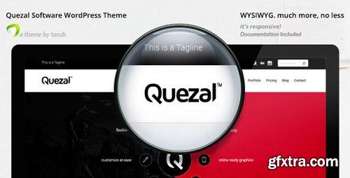 ThemeForest - Quezal v2.6.0 - Software Responsive WordPress Theme - 8500596