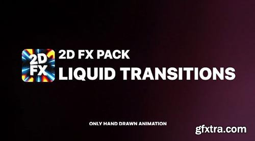 Liquid Transitions Pack - After Effects 90321