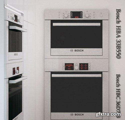Bosch HBA 33B550 3d Model