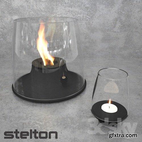 Fuego Fuego firelight 3d Model