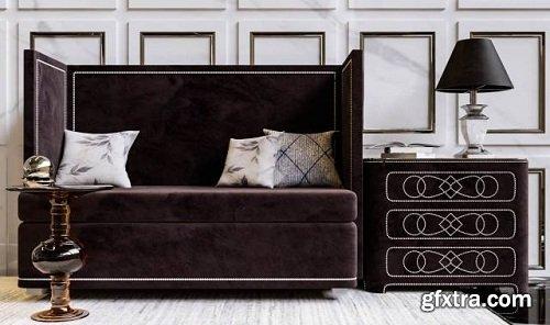 Decorative set 22 3d Model