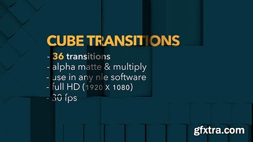 Videohive - Cube Transitions - 36 Pack - 20284088