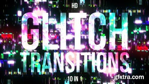 Videohive - Glitch Transitions - 21645038