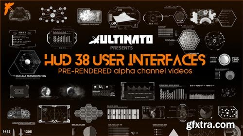 Videohive - 38 User Interfaces - 22056931