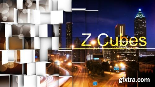 Videohive - Z Cubes - Transition - 6023897