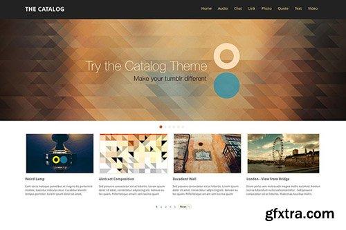 ThemeLantic - Catalog v1.5 - Tumblr Theme