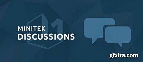 Minitek Discussions Pro v3.2.2 - AJAX Forum and Discussions Component For Joomla