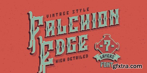 Falchion Edge Font Family