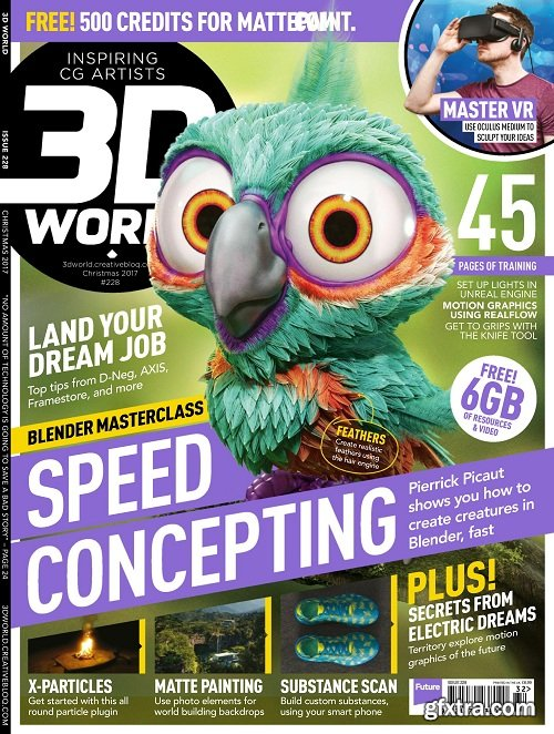 3D World UK - Issue 228
